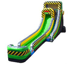 22ft Caustic Drop Water Slide Rental