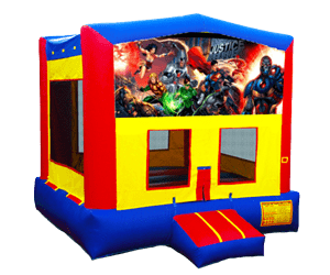 Action hero bounce house rentals