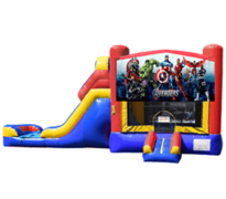 Avengers Bounce House & Slide