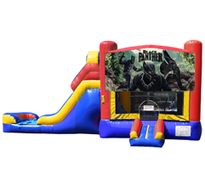 Black Panther Bounce House & Slide