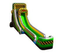 22ft Caustic Drop Water Slide