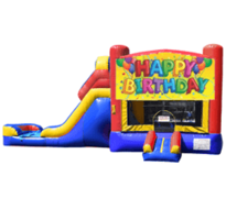 Happy Birthday Bounce House & Slide