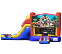 Micky Mouse Club Bounce House & Slide