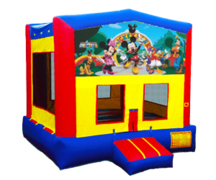The Mickey Mouse Club Bouncy Castle