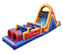 Obstacle Course & Double Lane Slide