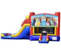 Princess Bouncy Castle & Slide