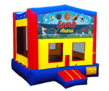 The Sports Arena Bouncy House