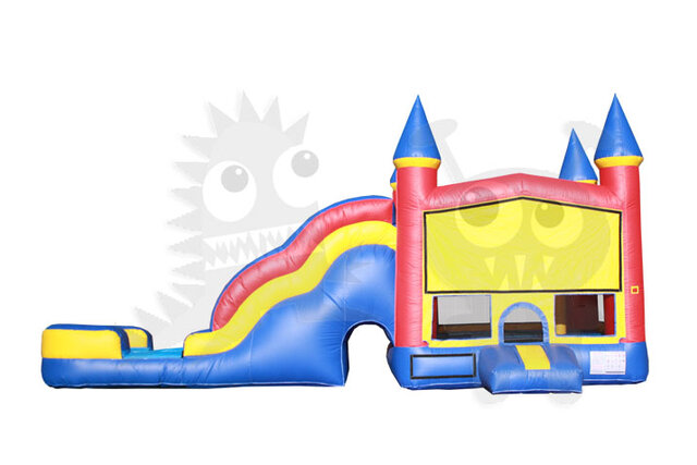 Castle Cloud Combo Water Slide