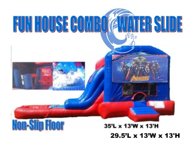 Avenger Fun House Combo Wet