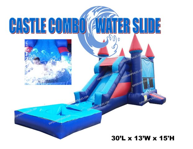 Castle Combo Water Slide