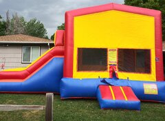 Fun House Bounce and Slide Combo