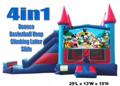 Mickey Mouse Play House  Castle Combo