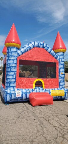 13' X 13' MEDIEVAL BOUNCE HOUSE