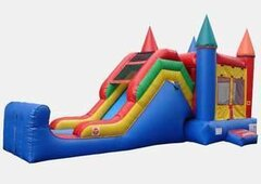 15' X 15' CRAYOLA COMBO CASTLE WITH SLIDE