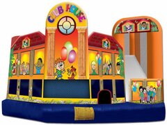 15' X 18' CLUBHOUSE BOUNCE HOUSE