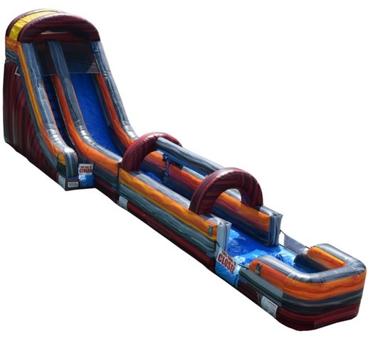 20ft Red Screamer Water Slide