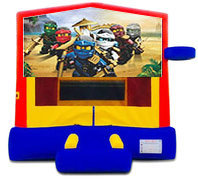 The Ninjago Bounce House