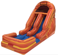 The 18'' Sunkist Water Slide