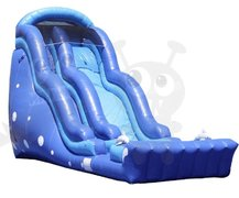 The 20 ft Blue Ocean Dolphin Slide (wet or dry)