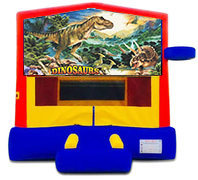 The Dinosaur Bounce House