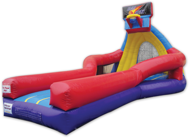Slam Dunk Inflatable Game