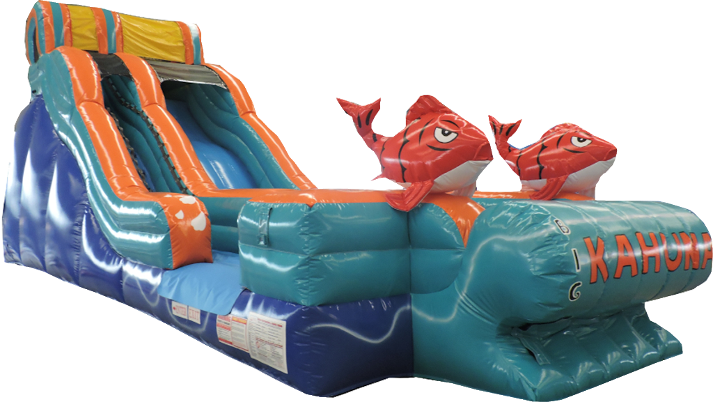 17 Ft Big Kahuna Slide