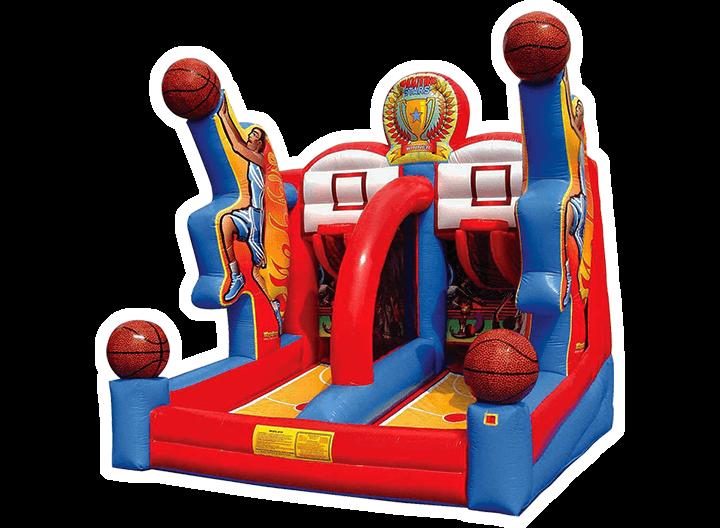 Shooting Stars - Basketball Inflatable Game