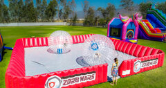 Zorb Ball Battle Arena with 2 Balls